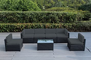 Amazon Com Ohana Mezzo Piece Outdoor Wicker Patio Furniture