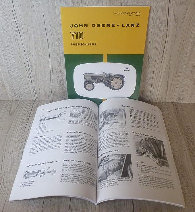John Deere Schlepper 300 Betriebsanleitung