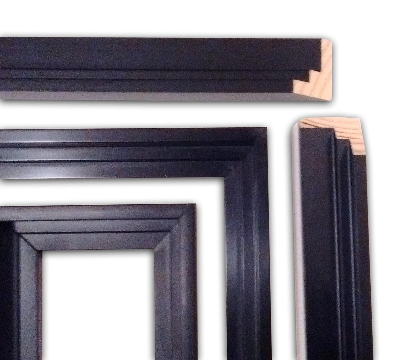 Amazon.de: Frames Float Rahmen 16 x 20 - Floater Rahmen für Leinwand ...