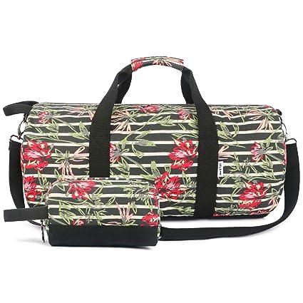 Oflamn Pequeña Bolsa de Viaje Bolsa Fin de Semana - Bolsa de Deporte para Mujeres y Hombres - Travel Duffel Bag & Sports Gym Bag