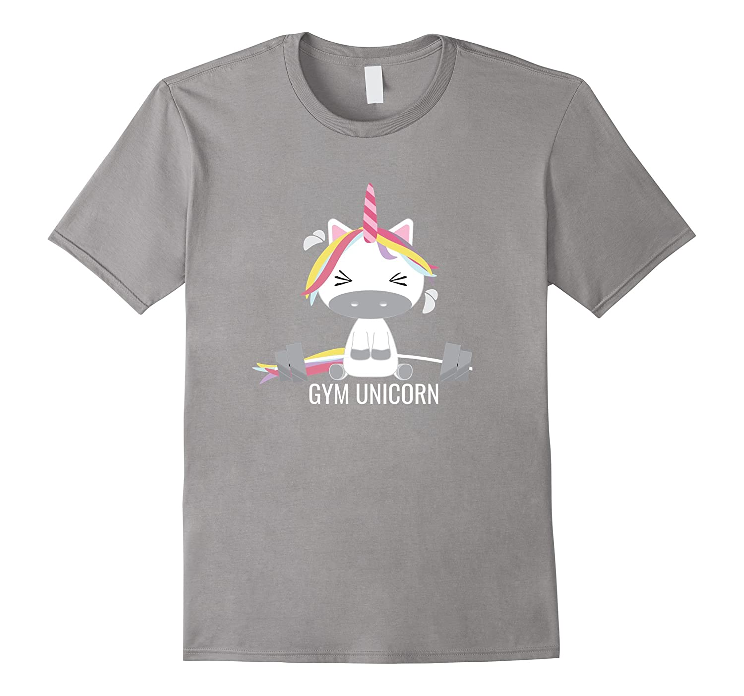 Gym Unicorn T-Shirt Men Women And Kids Styles-CD