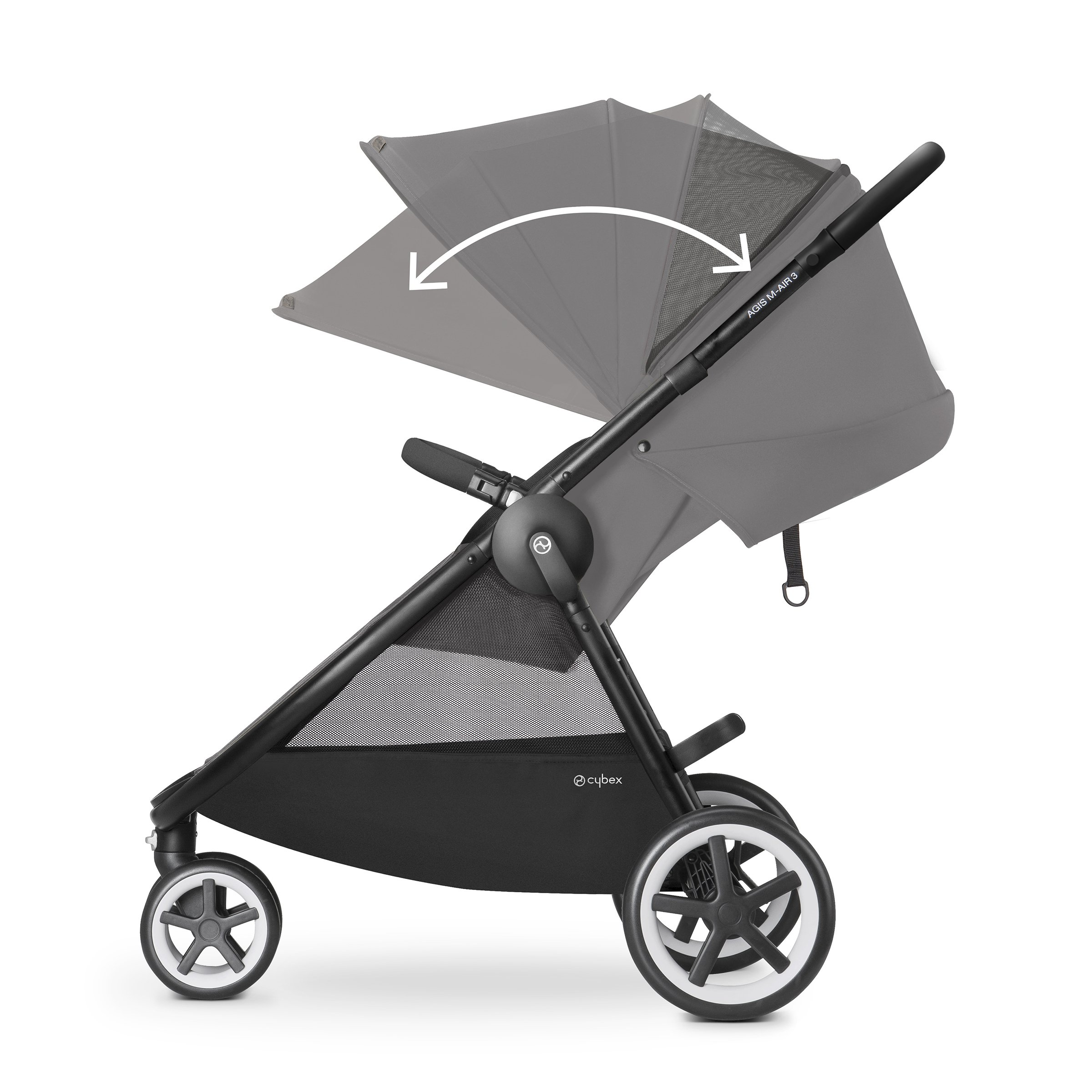 Cybex Agis M-Air 3/Aton/Aton Base Travel System, Moon Dust by Cybex (Image #5)