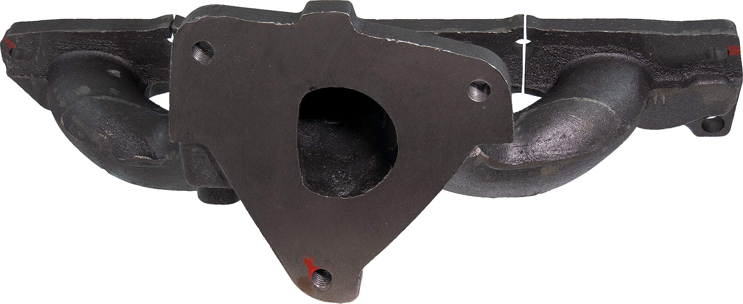 APDTY 785981 Exhaust Manifold Cast Iron Assembly w/Heat Shield, Gaskets, Downspout Studs Fits 2.2L Ecotec 4-Cylinder Engine (Replaces 90537679) by APDTY (Image #4)