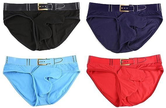 c17a38318f5 Barsty Men's Thong G-string Elastic Smooth Bikini Airplane Underwear BDBR S