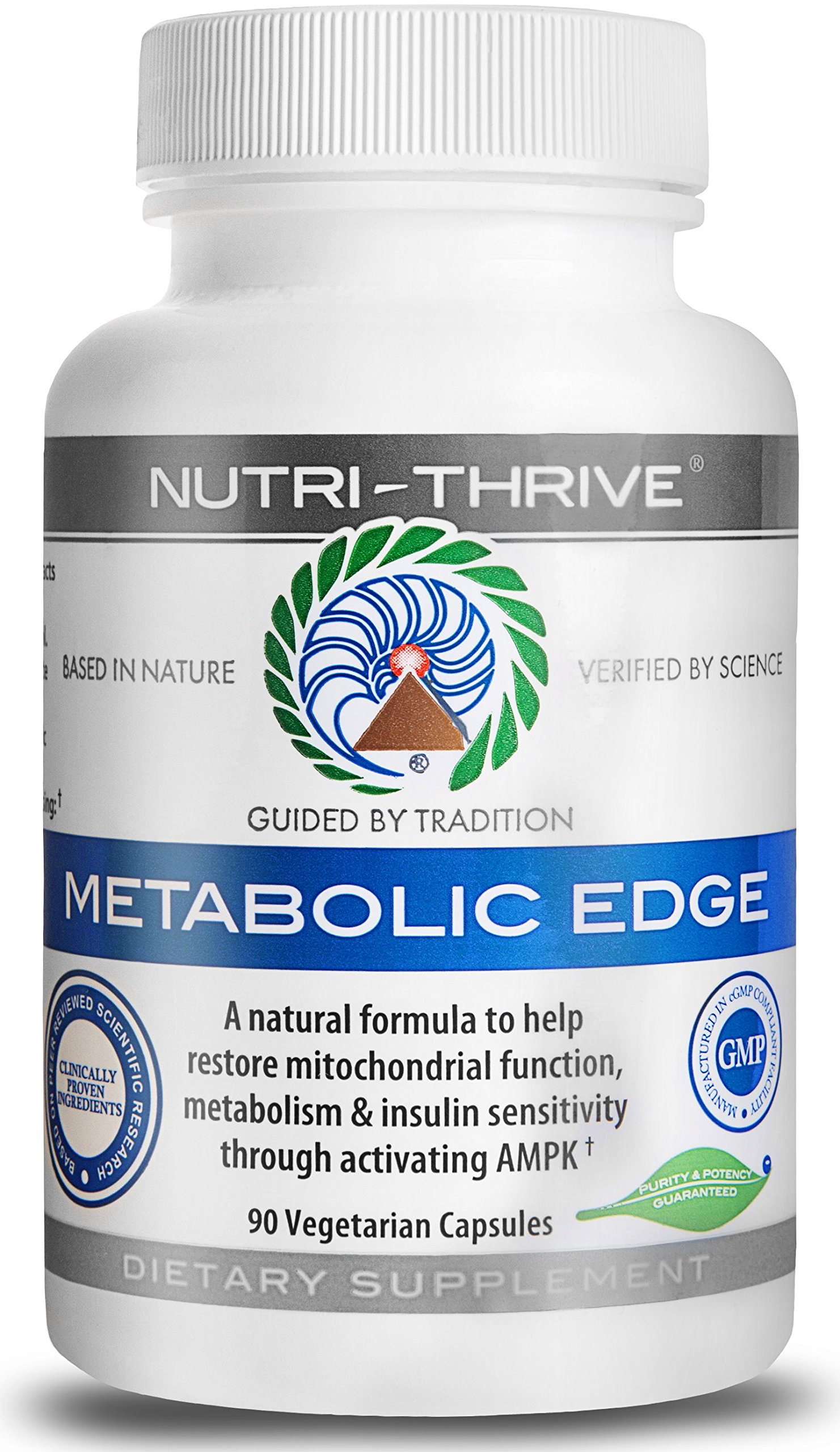 Metabolic Edge - A Potent Blend Of Clinically Proven Extracts: Berberine, High-Dose Fucoxanthin & Heat-Treated Jiaogulan (ActivAMP®)
