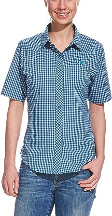 Tatonka Hemd Clemont Womens Short Sleeve-Shirt - Camisa ...