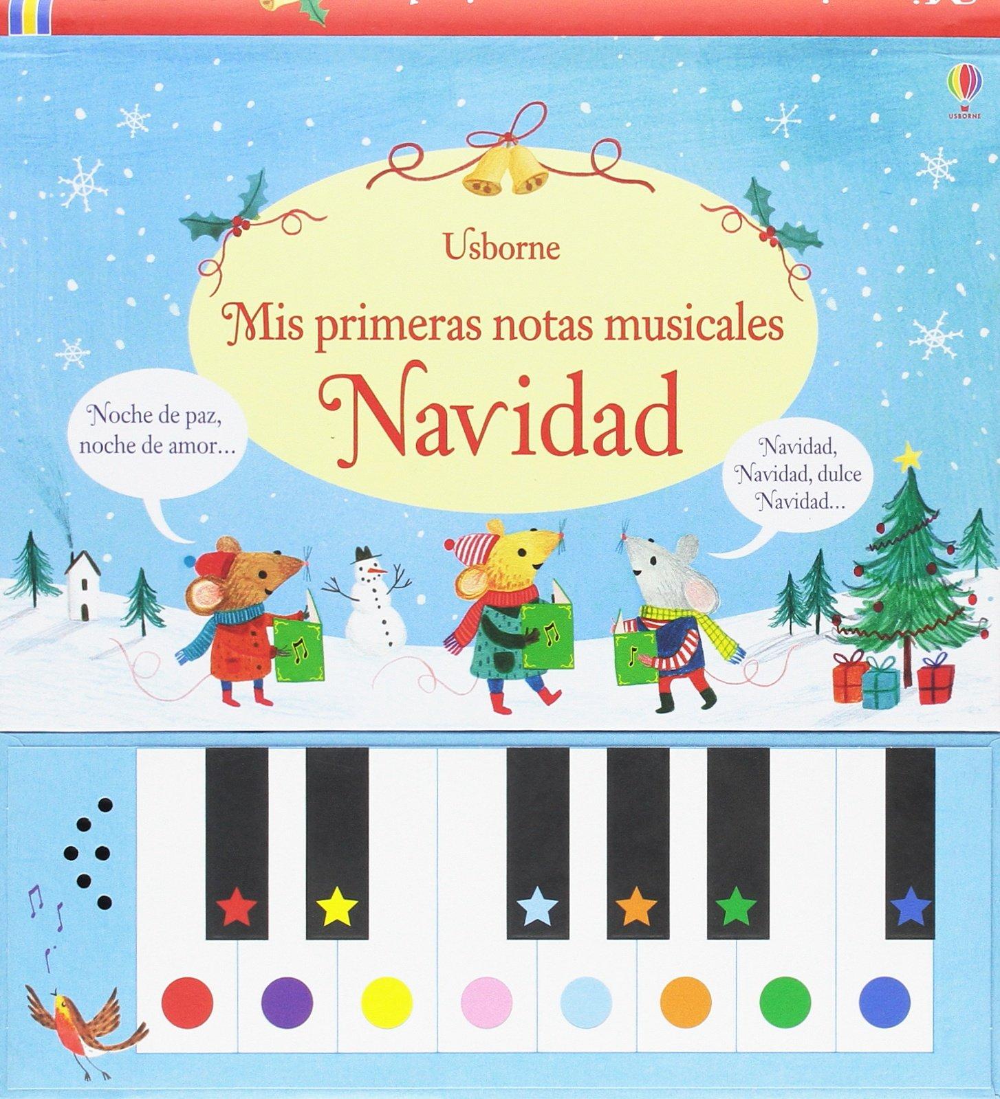 Mis primeras notas musicales. Navidad (Spanish) Hardcover – 2013