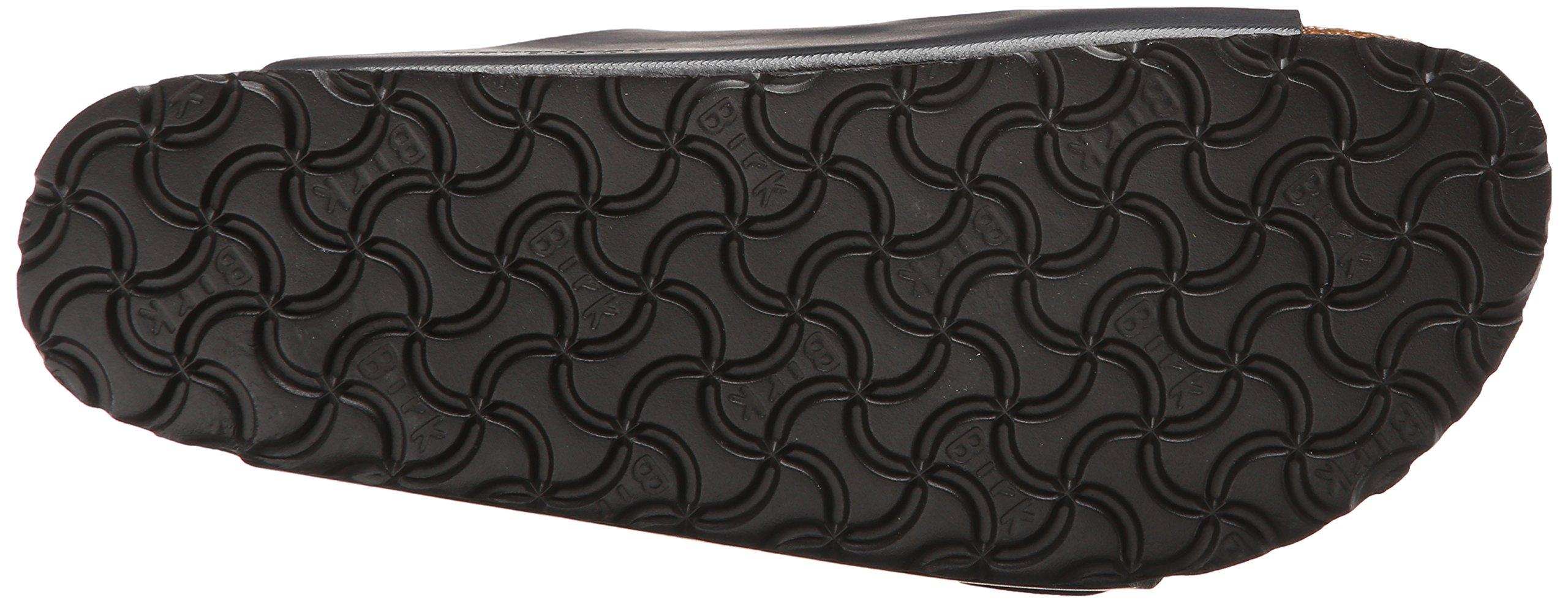 Birkenstock Unisex Arizona Hunter Black Leather Sandals - 9-9.5 2A(N) US Women/7-7.5 2A(N) US Men by Birkenstock (Image #3)