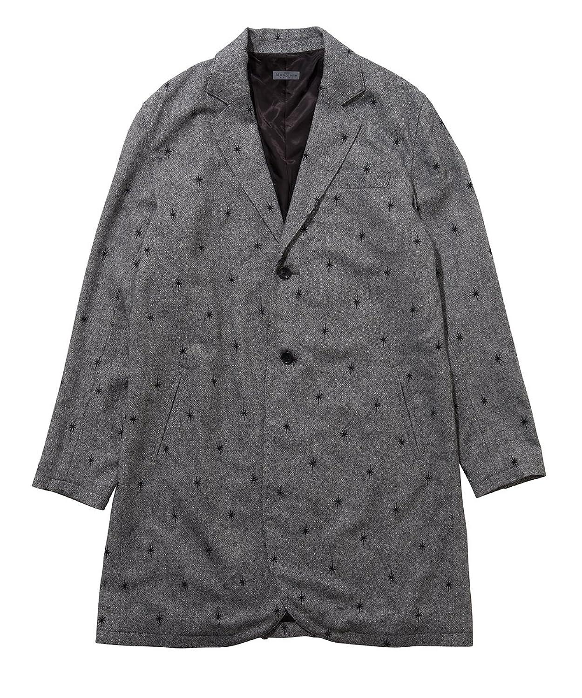 (グラム) glamb Tweed chester coat GB17WT/MN10 B0761RGC3D  グレー 3