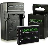 PATONA Caricabatteria + Premium Batteria NP-95 per Fuji FinePix F30 | F31fd | Real 3D W1 | X-S1 | X100S