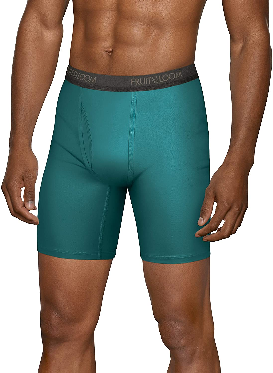 Fruit of the Loom Men's Lightweight Micro-Stretch Boxer Briefs at  Men's Clothing store