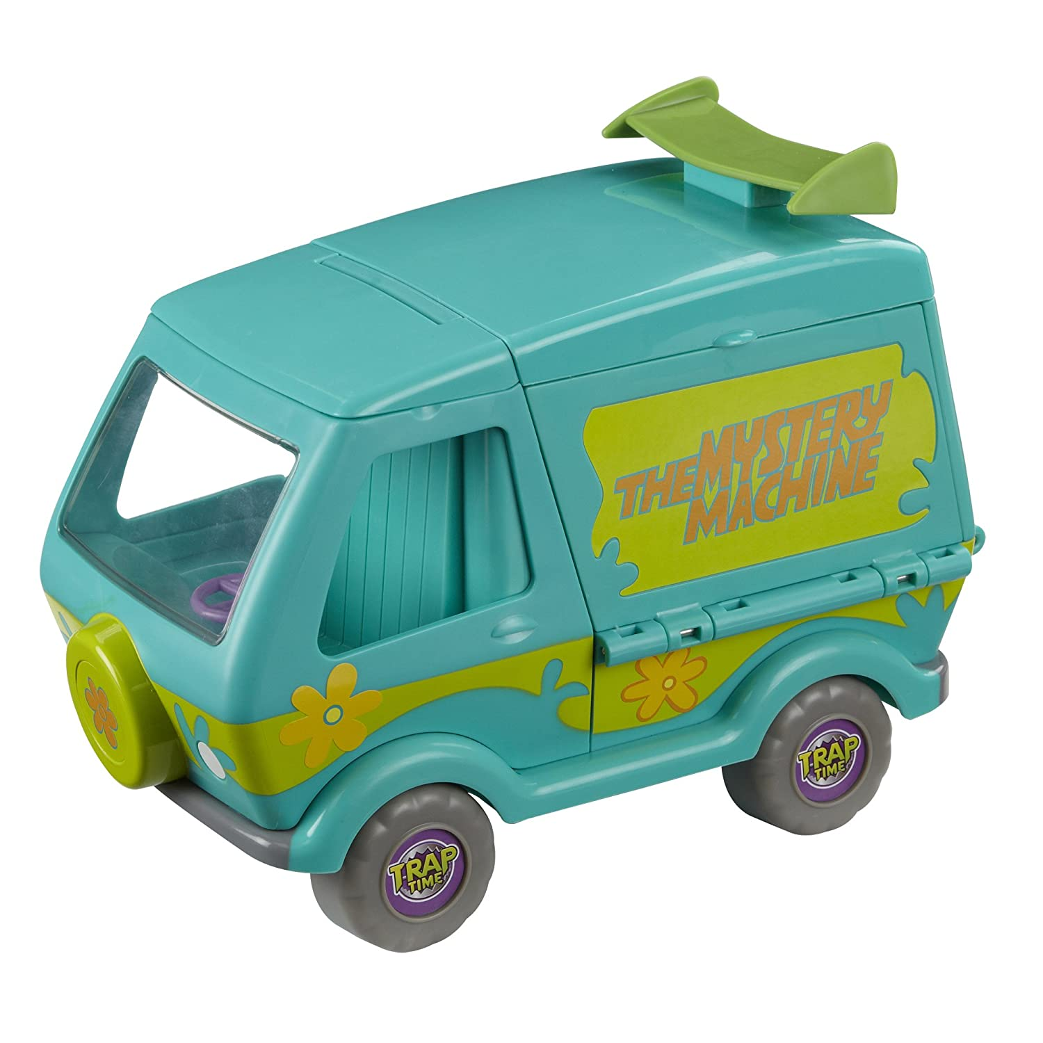 Amazon.com: Scooby Doo Trap Time Deluxe Mystery Machine: Toys & Games