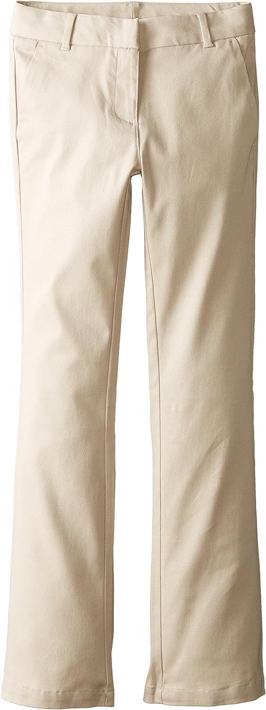 Izod Girls Slim Fit Stretch Skinny Bootcut Uniform Pant