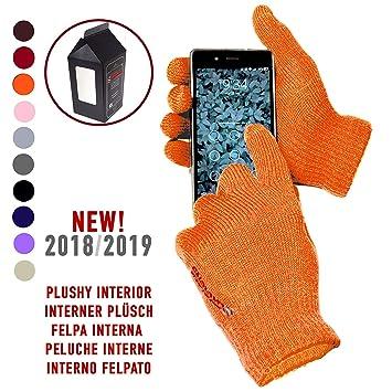 estilo de moda de 2019 los más valorados disfruta el precio más bajo AXELENS Guantes Touch Screen Táctiles Invernales os Persuade Calientes -  Unisex - Interno Felpudo - Por Smartphone, Celulares y Tablet - Confección  ...
