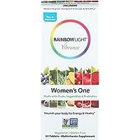Rainbow Light, Multivitamin Womens One, 60 Count