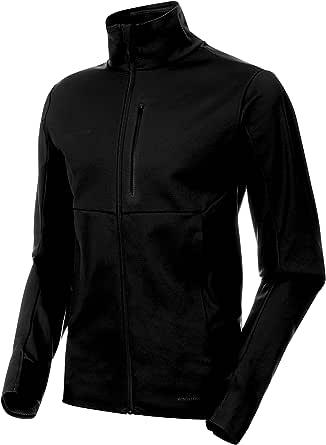 Mammut Men's Ultimate V Softshell Jacket, Black/Black