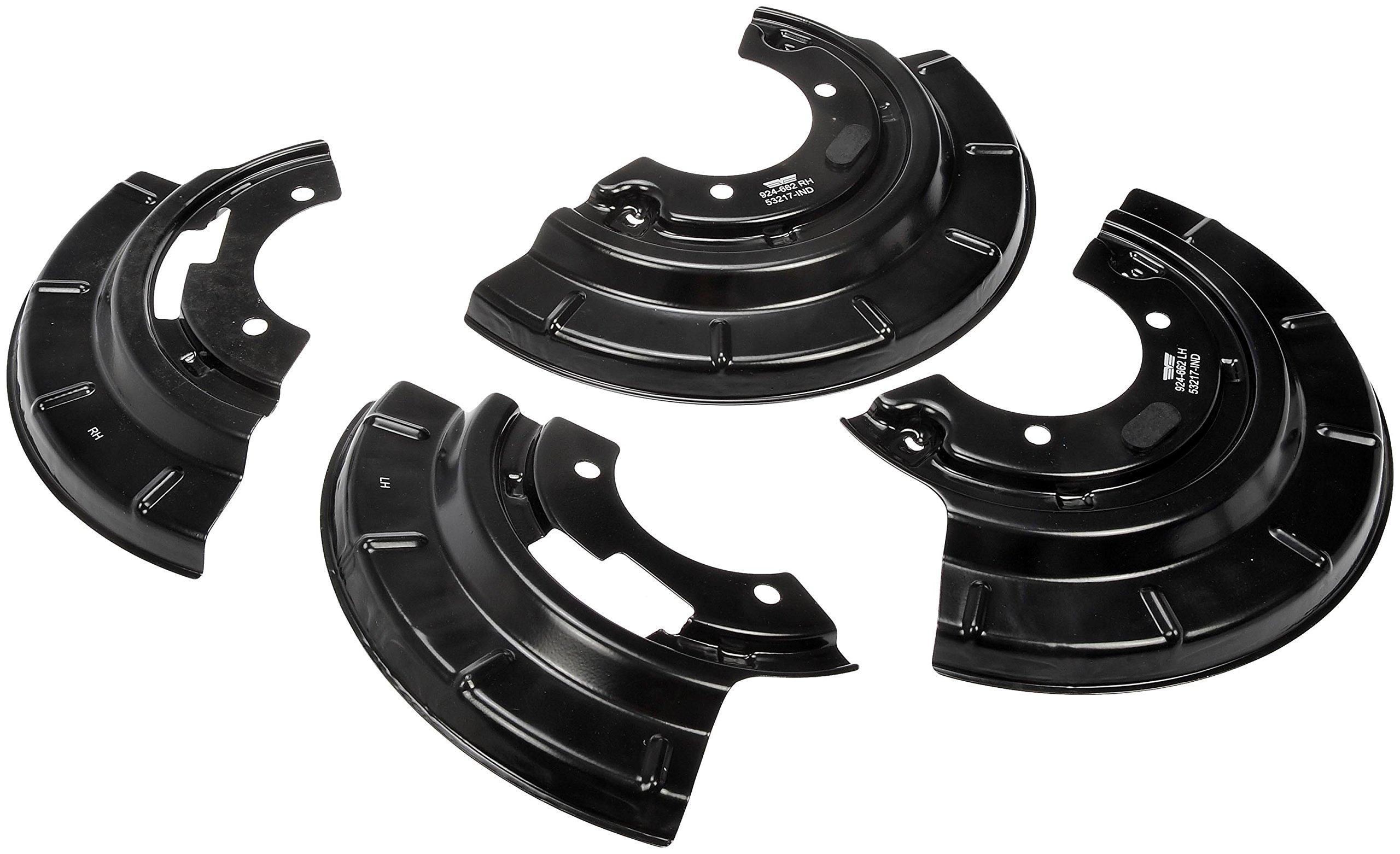 Dorman 924-662 Brake Dust Shield, Split Pair, 2 Pack