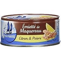 Petit Navire Emietté de Maquereau Citron/Poivre 110 g