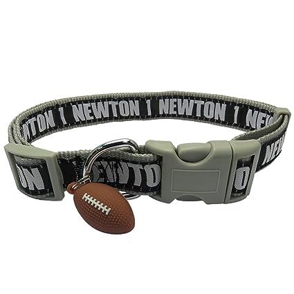NFLPA Dog Collar - CAM Newton  1 Pet Collar - NFL Carolina Panthers  Adjustable Dog 1111512dd
