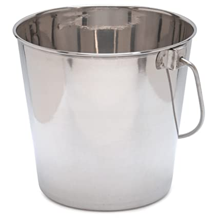 Amazon.com: cubeta de acero inoxidable 2 Quart: Jardín y ...
