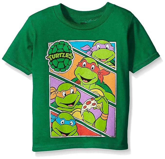 Teenage Mutant Ninja Turtles Baby Boys Toddler Group Tee Shirt
