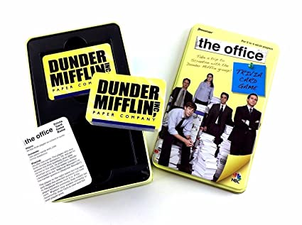 the office trivia card game
