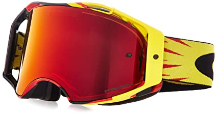 Oakley Airbrake Mx >> Amazon Com Oakley Airbrake Mx High Voltage Adult Off Road