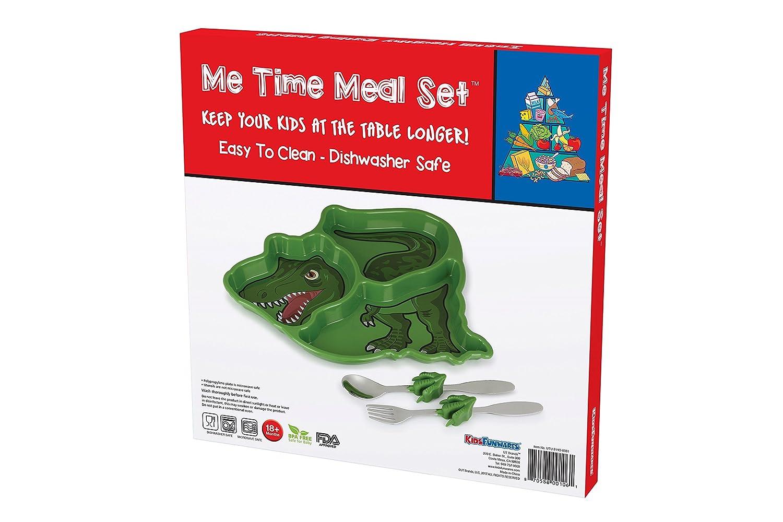Green KidsFunwares UTU2HO0082 Me Me Time Tractor Kids Meal Set