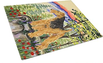 Carolines Treasures Lakeland Terrier Pair of Pot Holders KJ1044PTHD 7.5HX7.5W Multicolor