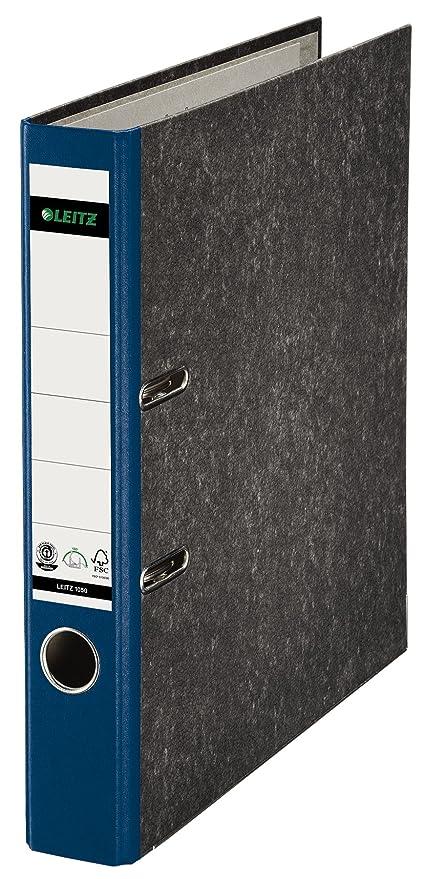 Leitz 10505035 - Archivador (A4, con palanca, capacidad: 350 hojas),