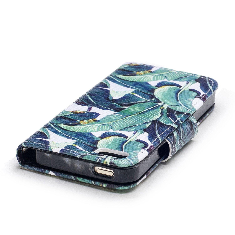 Herbests Kompatibel mit iPhone SE//iPhone 5S Handy H/ülle Leder H/ülle Tasche Leder Flip Case Mandala Blumen Eule Diamant Bling Glitzer Schutzh/ülle Klapph/ülle Wallet Case,Gold