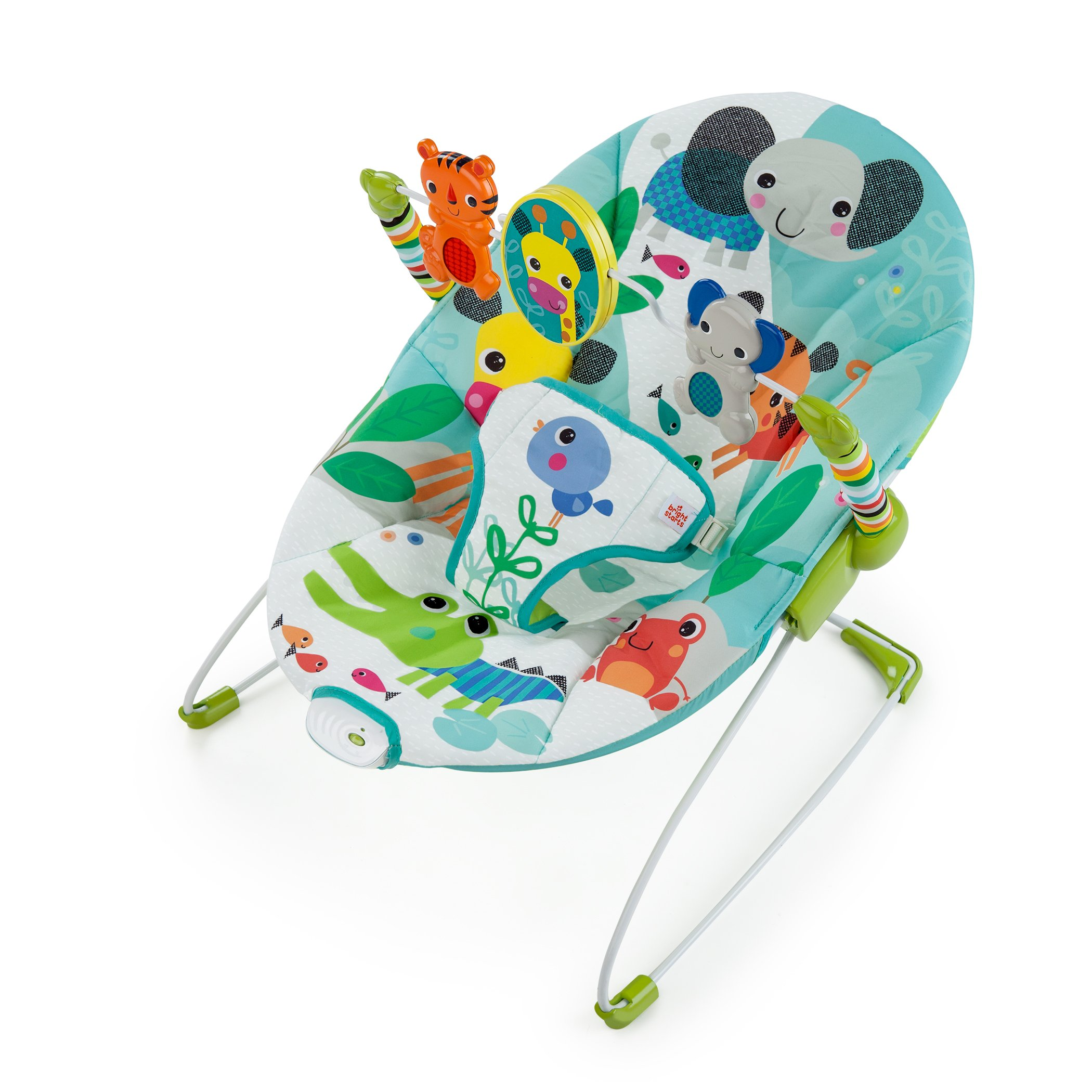 Bouncer Soothing Vibrating Chair Swing Calm Baby Bar Bright Starts