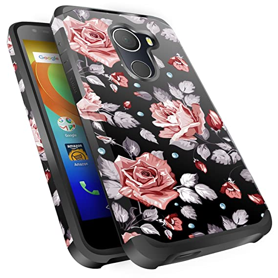 huge selection of bde86 78bb5 T-Mobile REVVL Case, Alcatel A30 Plus Case, Alcatel A30 Fierce Case,  Alcatel Walter Case, Miss Arts Slim Anti-Scratch Kit with [Drop Protection]  Dual ...