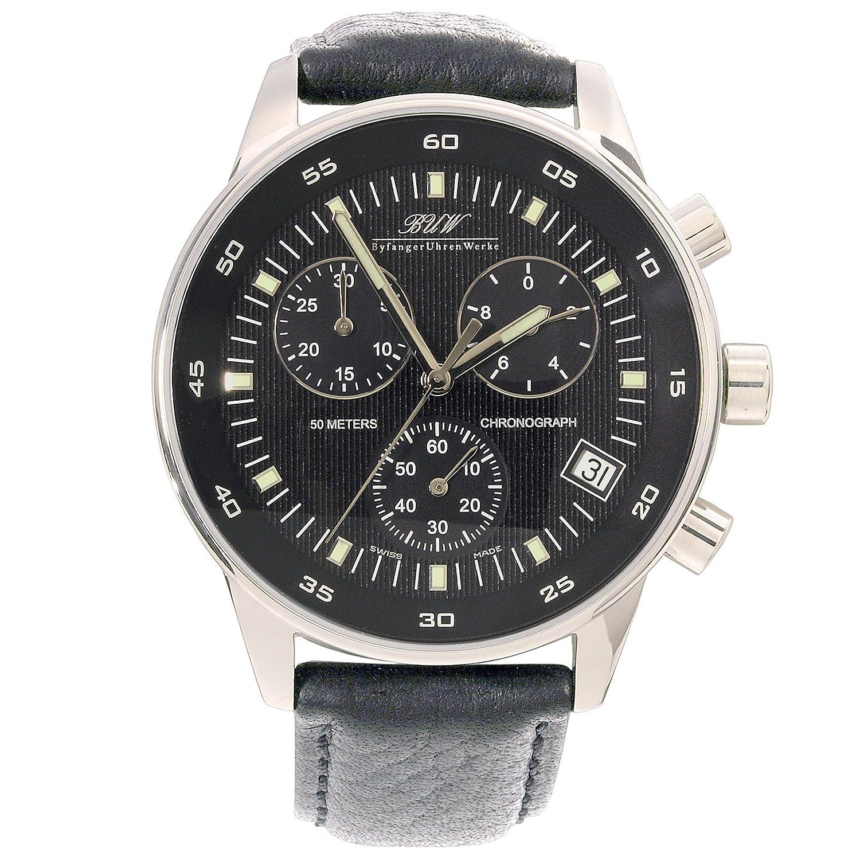 Chronograph - BUW Dufour Black - Herrenuhr - Herrenarmbanduhr