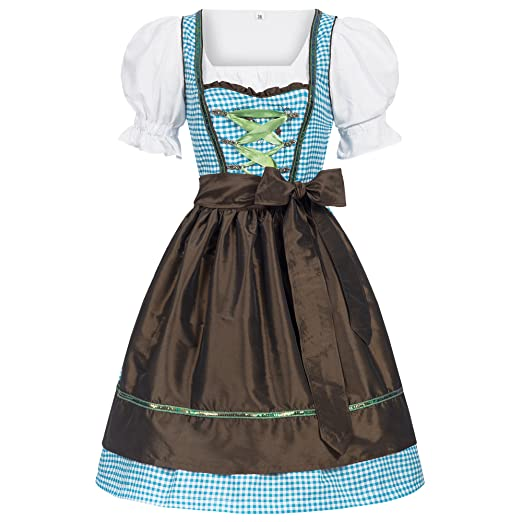 3bf77eecce4e Amazon.com  Women s German Dirndl Dress Costumes for Bavarian ...