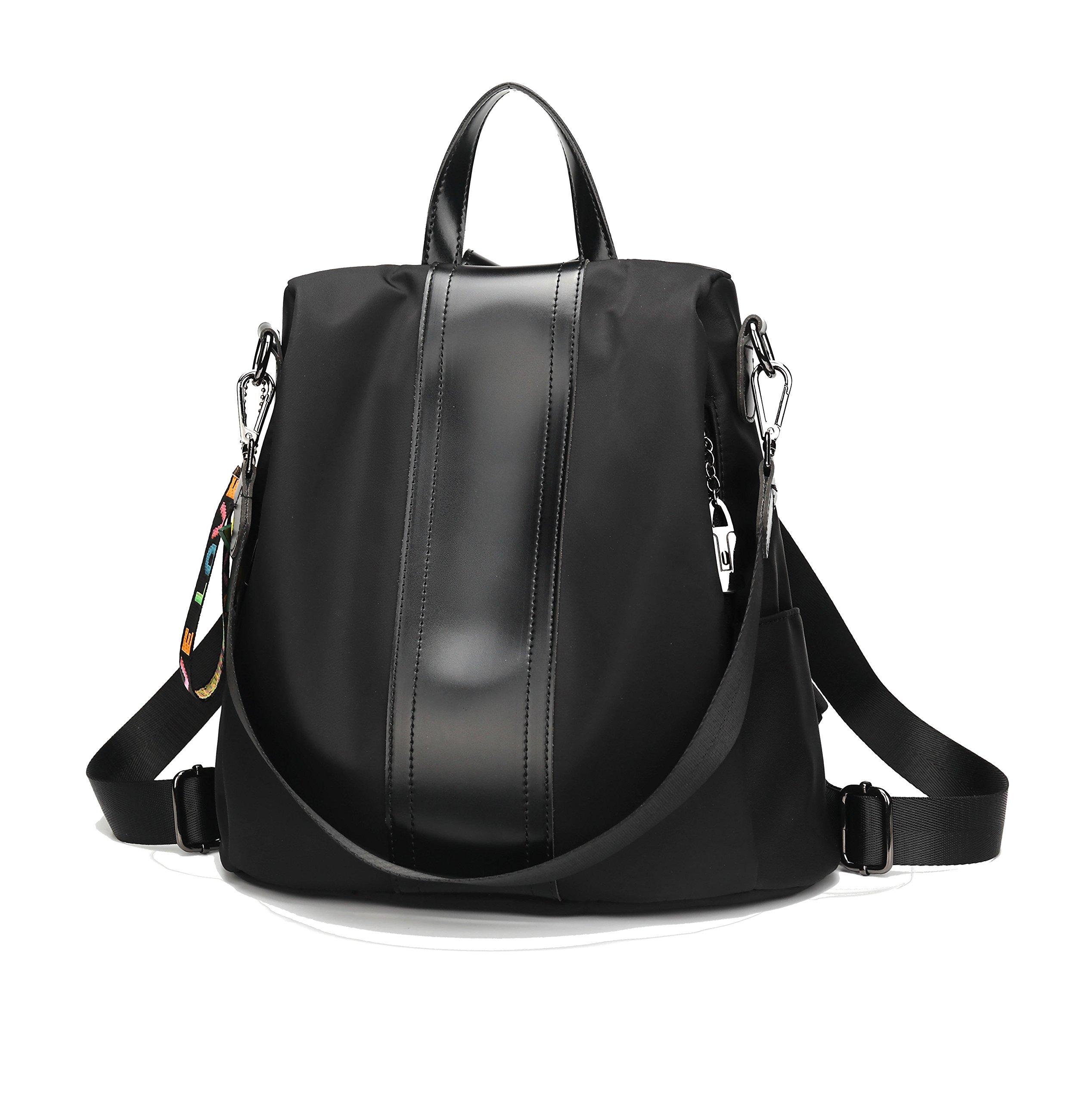 EGOKEE Women Backpack Purse Oxford Waterproof Anti-theft Rucksack Fashion Simple School Shoulder Bag