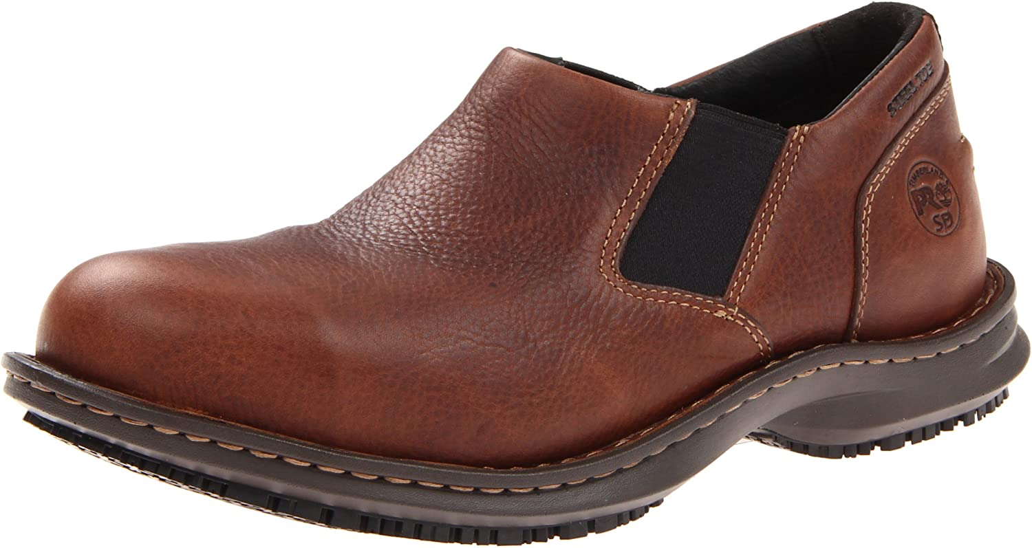 Timberland PRO Men's Gladstone ESD Work Shoe,Brown,7 M US