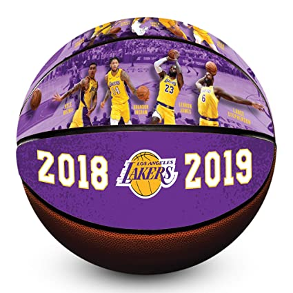 c199fcc63a2 Amazon.com  Los Angeles Lakers 2018 2019 Roster Officially Licensed ...