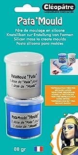 Cleopatre - BLLCC22-80 - Pasta de silicona para hacer moldes, 2x40 gr,