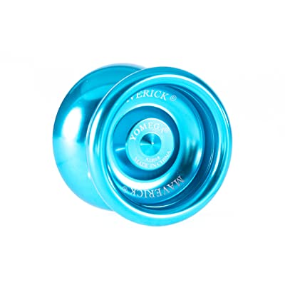 Yomega Maverick -Professional Aluminum Metal Yoyo for Kids and Beginners with C Size Ball Bearing for Advanced yo yo Tricks and Responsive Return (Colors May Vary): Toys & Games