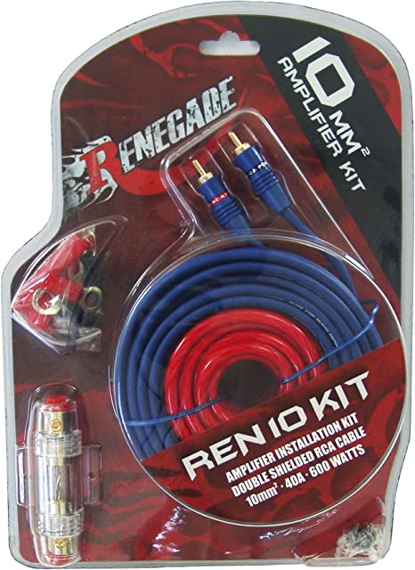 Renegade Ren10kit Rca Rca Black Blue Red Cable Computer Zubehör