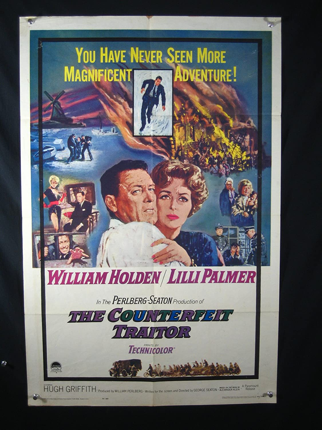 The Counterfeit Traitor (1962) directed by George Seaton