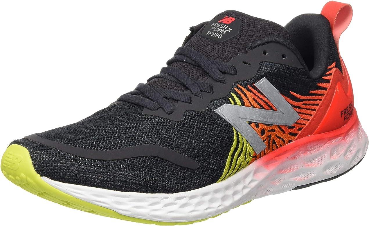 New Balance MTMPOBR, Zapatillas para Correr para Hombre, Black/Phantom/Neo Flame, 39 EU: Amazon.es: Zapatos y complementos