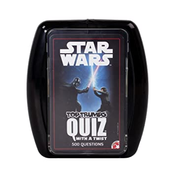 Juego de Cartas Top Trumps de Star Wars: Amazon.es: Juguetes ...