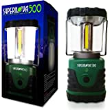 Supernova 500 Ultra Bright Camping & Emergency LED Lantern, Forest Green