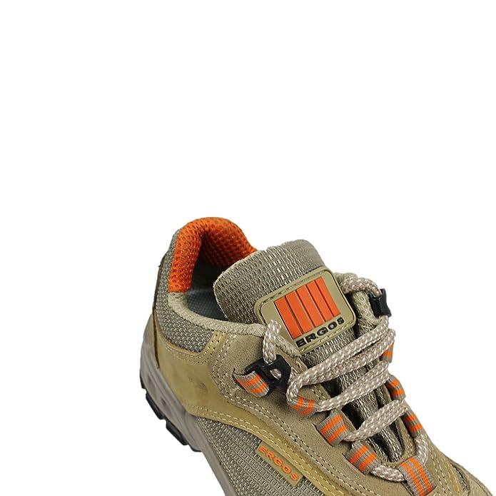 Ergos capri 2 chaussures de sécurité s1P sRC chaussures businessschuhe plat marron - Marron - Marron, 35