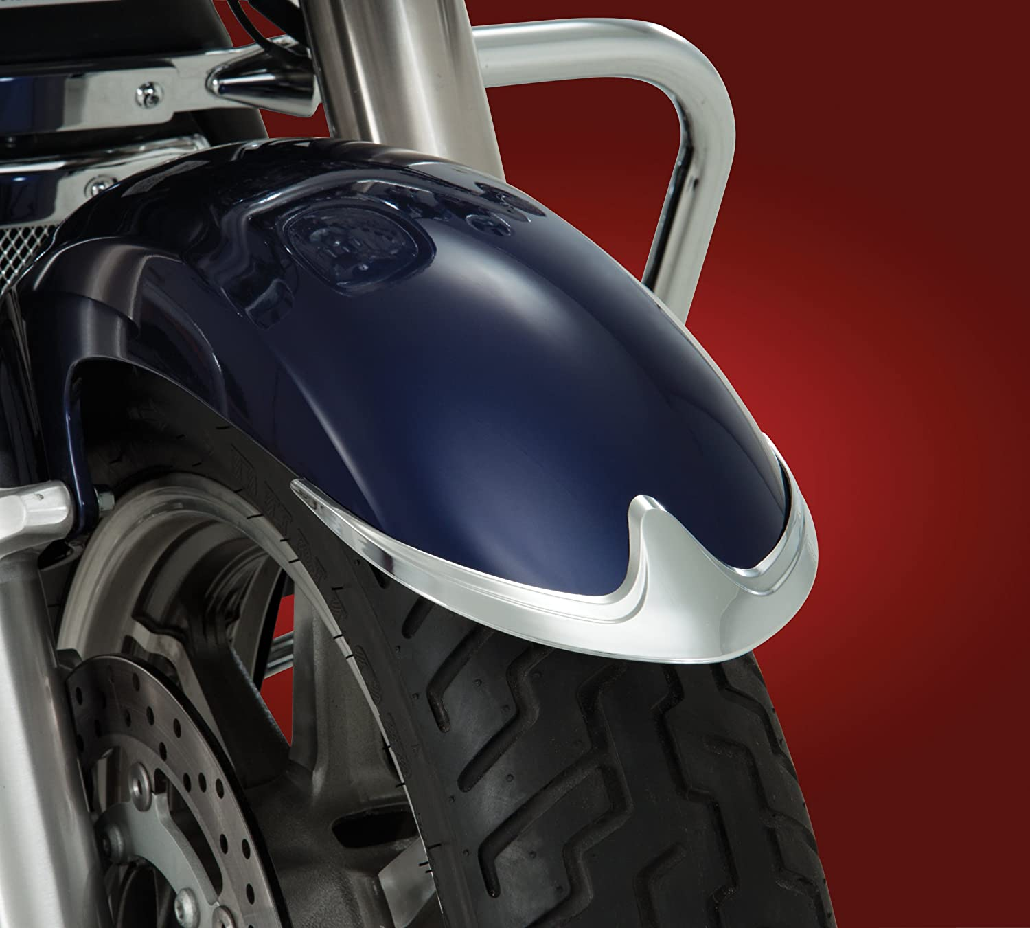 Show Chrome Front Fender Tip Accent 63-306*