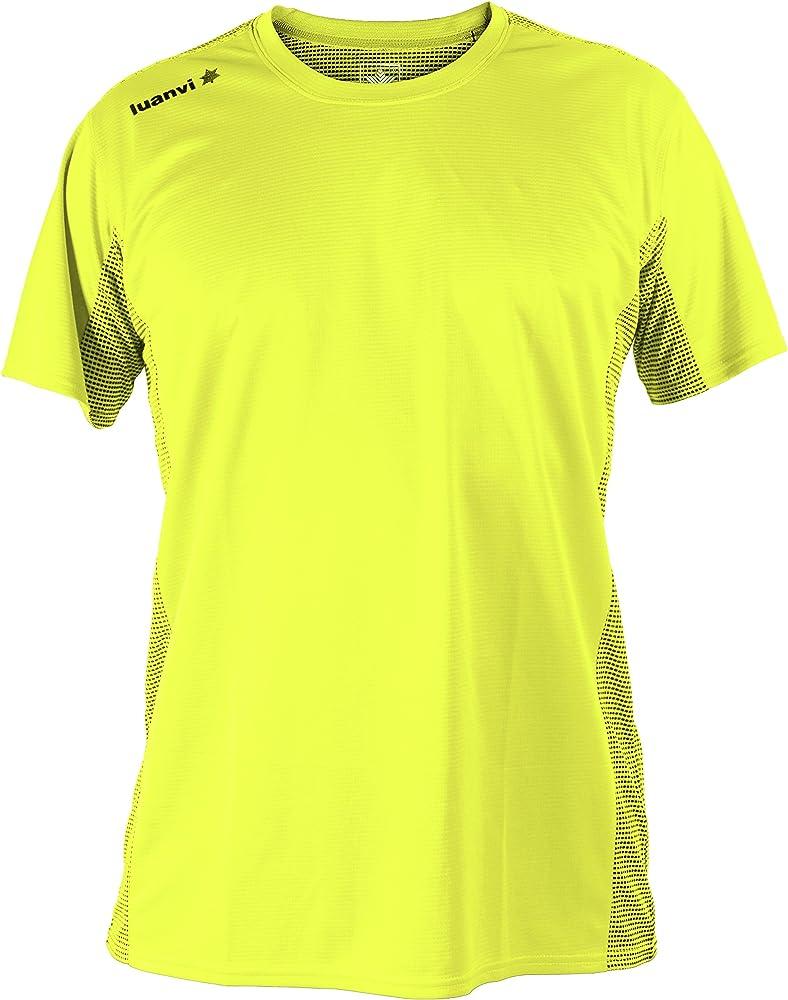 Luanvi Nocaut Plus CRO Pack de 5 Camisetas, Hombre, Amarillo flúor ...