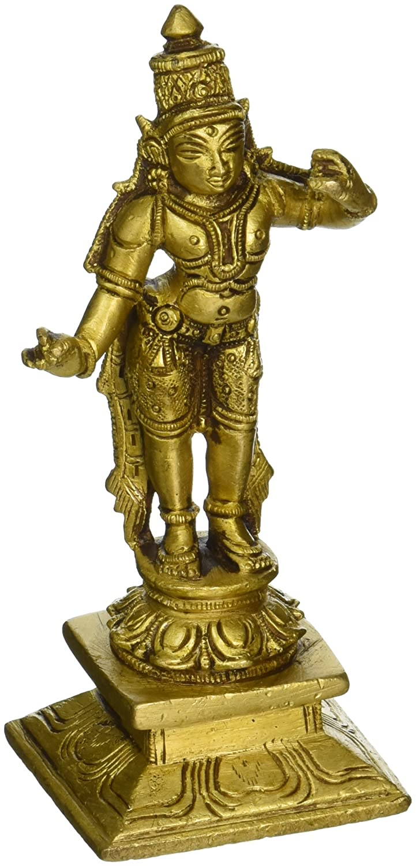 Gangesindia Lord Rama Statue in Brass