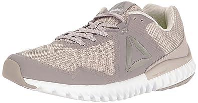 Womens Twistform Blaze 3.0 Mtm Running Shoe, Collegiate Navy/Mist/Silver Met, 6 M US Reebok